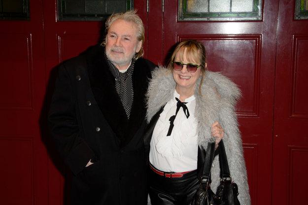 S partnerom Leighom Lawsonom