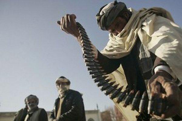 Militanti z Talibanu.