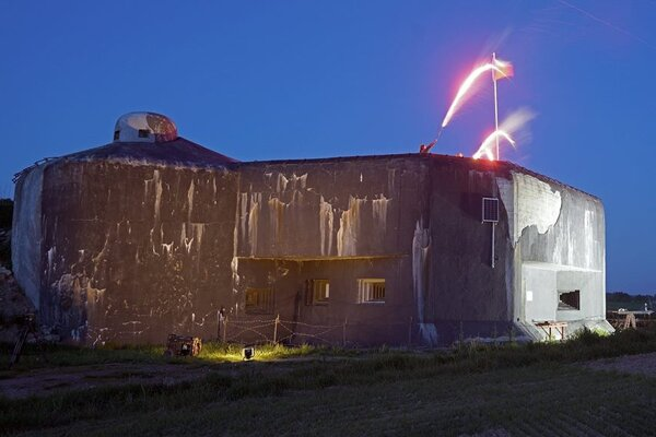 Po prvýkrát sa bunkre rozsvietili v máji.