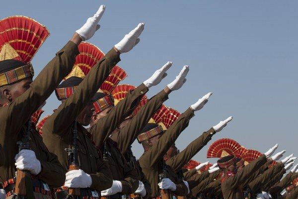 Vojaci indickej armády.