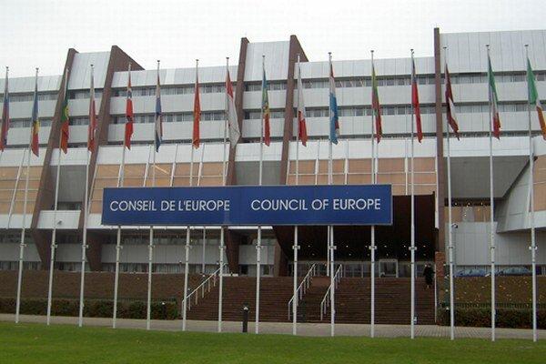 Budova Rady Európy.