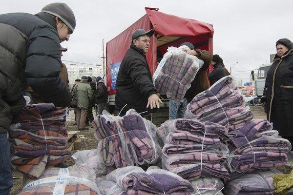 Humanitárnu pomoc dostanú aj v Mariupoli.