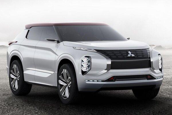 Štúdia Mitsubishi GT-PHEV Concept. Japonská automobilka Mitsubishi predstaví na parížskom autosalóne vo svetovej premiére svoju štúdiu športovo-úžitkového vozidla s hybridným pohonom.