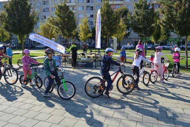 Podujatia sa zúčastnili aj cyklotrialisti.