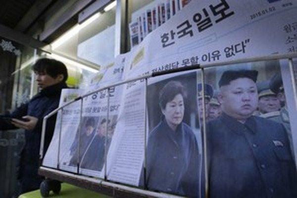 Juhokórejské noviny píšu o summite.