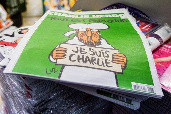O nové číslo Charlie Hebdo je veľký záujem.