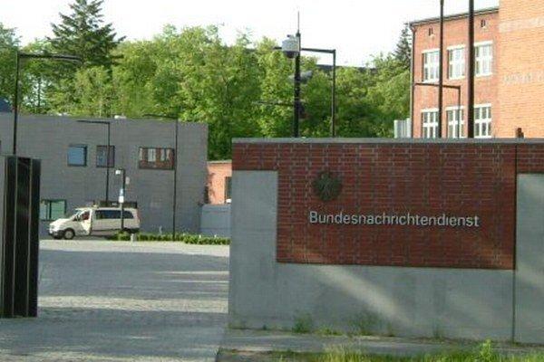 Centrála nemeckej tajnej služby v Berlíne.