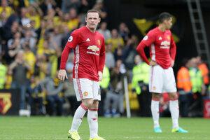 Rooney je na Britských ostrovoch v posledných mesiacoch kritizovaný.