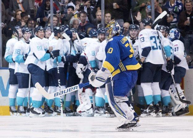 Tím Európy slávi postup do finále Svetového pohára.