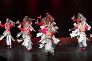 Na podujatí vystúpili aj zahraničné folklórne súbory.