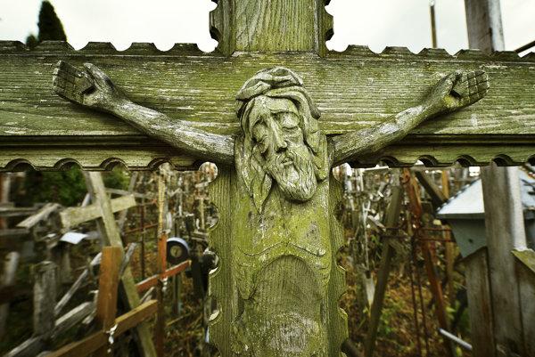 Jeden z mnohých krížov.