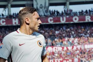 Francesco Totti je legendou AS Rím.