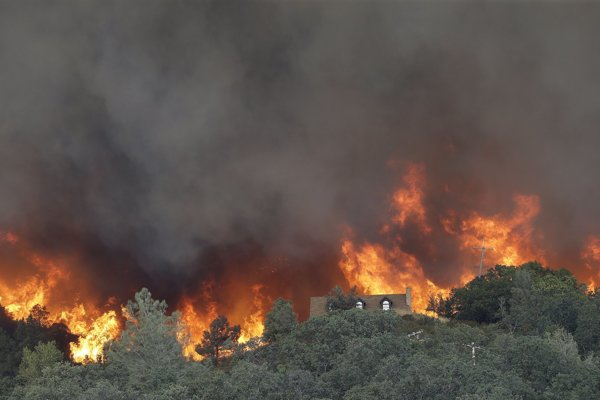 Požiare v Austrálii.