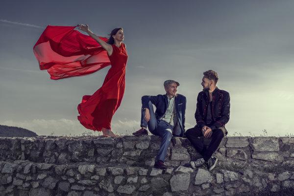 Longital, to sú zľava Šina, Daniel Salontay a Marián Slávka.