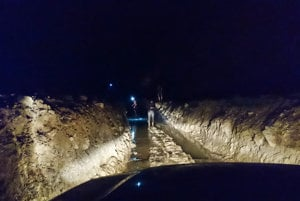 Nočná mora pre šoféra. Takto vyzerajú niektoré cesty v provincii Assam.
