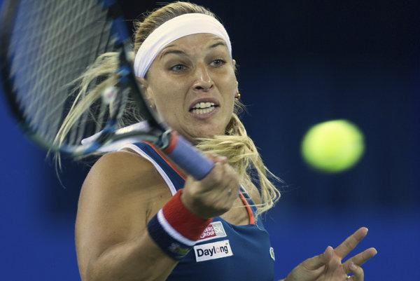 Dominika Cibulková vo svojom piatom finále v tomto roku neuspela a nepridala svoj tretí tohtosezónny titul.