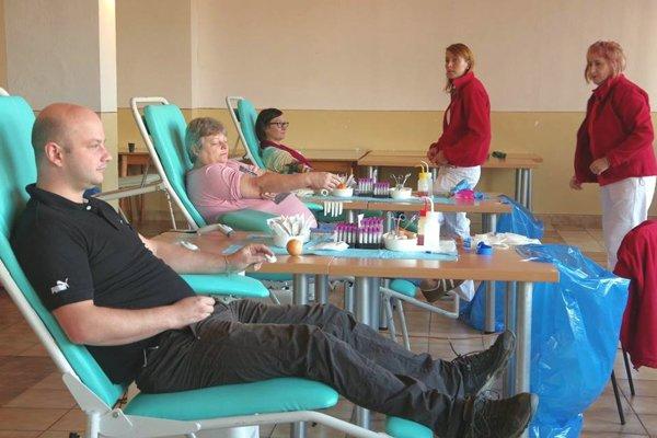 Vo Valči zorganizovali darovanie krvi.
