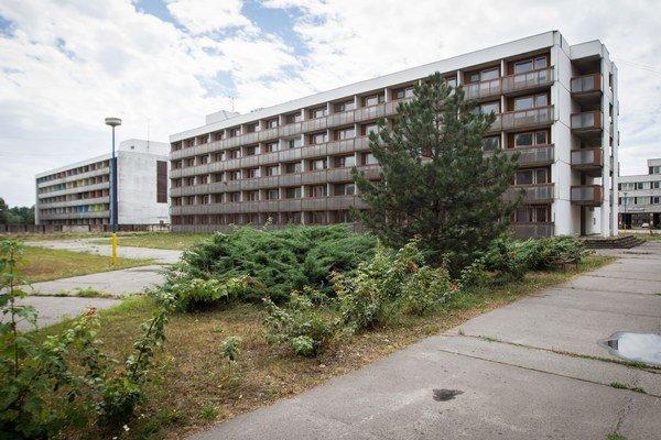 Ubytovňa v Gabčíkove.