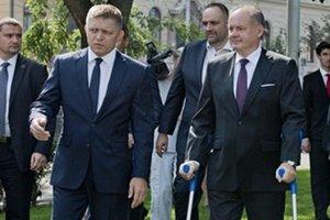 Prezident prišiel na Bratislavskú spomienku aj napriek nedávnej operácii.