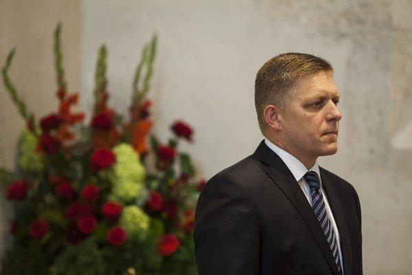 Fico počas slávnostného prejavu počas slávnostnej schôdze ku Dňu Ústavy.