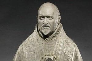Busta pápeža.