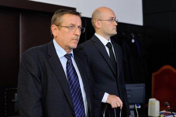 Babišovi advokáti Vladimír Ruman a Vojtech Agner.