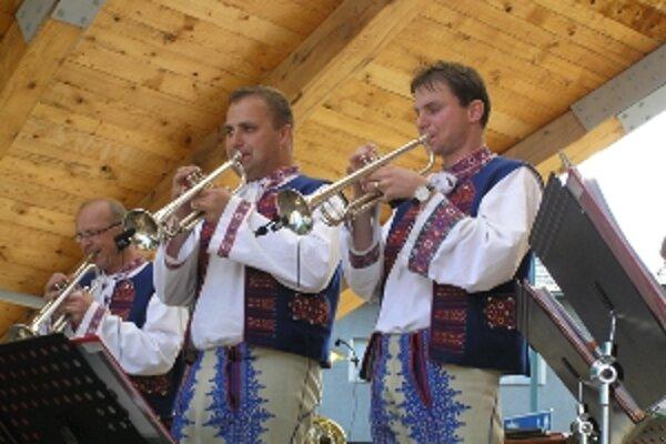 Hudobníci sa stretli na festivale v Nitrianskom Pravne.