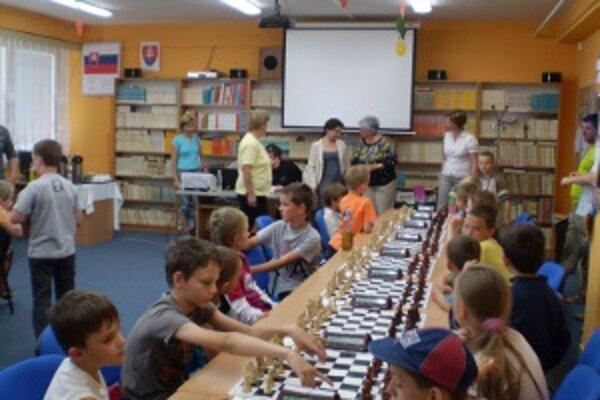 Deti prežívali na turnaji radosť zo šachovej záľuby.