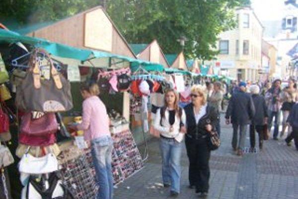 V Prievidzi bude jarmok pri príležitosti mestských dní, v Handlovej organizujú tradičný Urbanský jarmok.