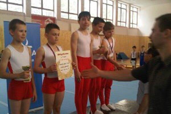 Preteky v športovej gymnastike dopadli pre naše talenty dobre.