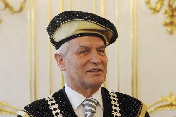 Jozef Klimko ako rektor.