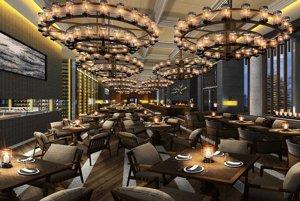 Luxusná reštaurácia v rezorte