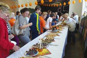 Návštevníci si počas víkendu pochutnali na tekvicových dobrotách.