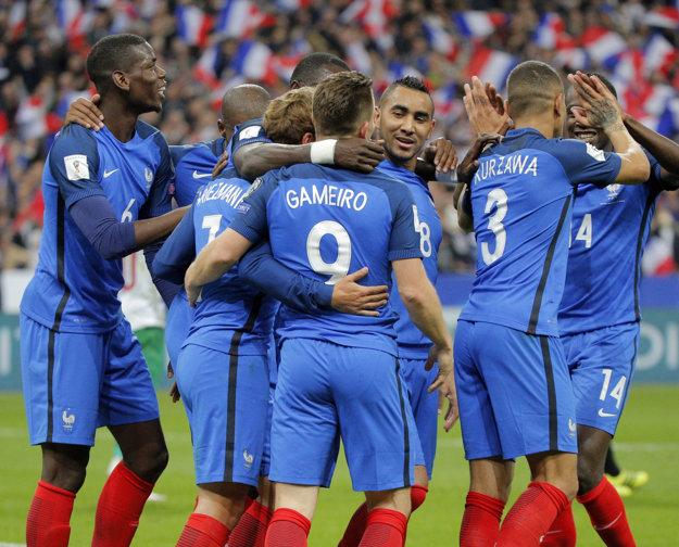 Francúzsko muselo otáčať, nakoniec však presvedčivo vyhralo.