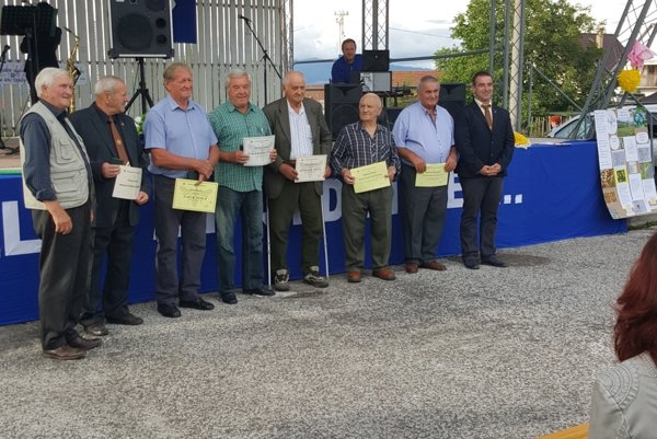 Šiesti včelári získali počas Medového dňa v Kamenci ocenenie.