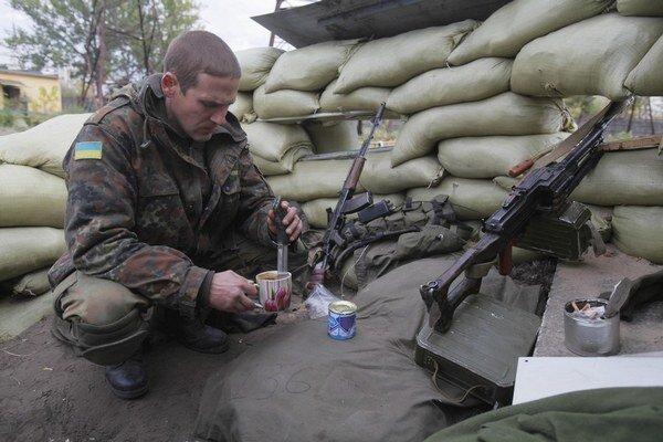 Na Slovensku sa liečia ukrajinskí vojaci.