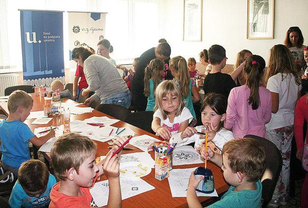Tvorivé dielne. Lepší sobotňajší program si deti nemohli priať.