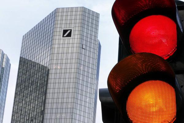 Sídlo Deutsche Bank v nemeckom Frankfurte.
