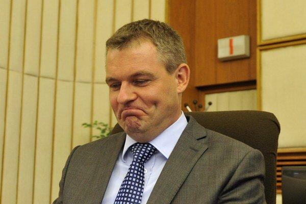 Nový minister školstva Peter Pellegrini.