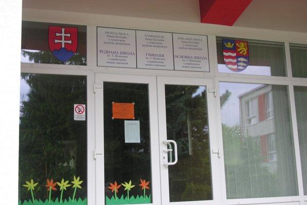 Spojená škola Tarasa Ševčenka je jediná svojho druhu na Slovensku.