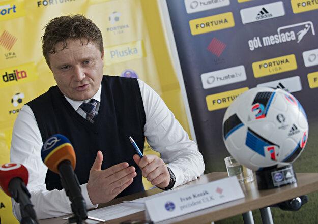 Ivan Kozák, šéf ÚLK.