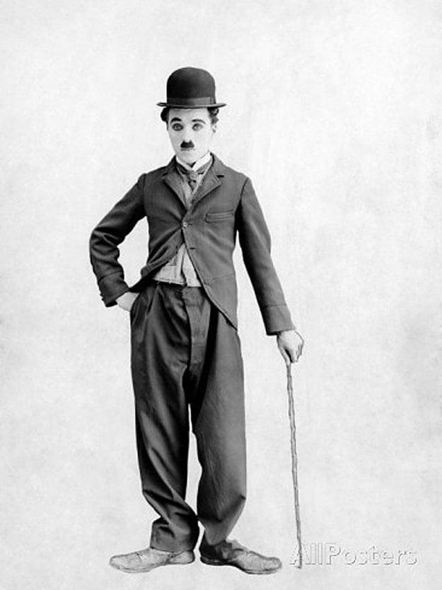 Charlie Chaplin ako ho poznáme.