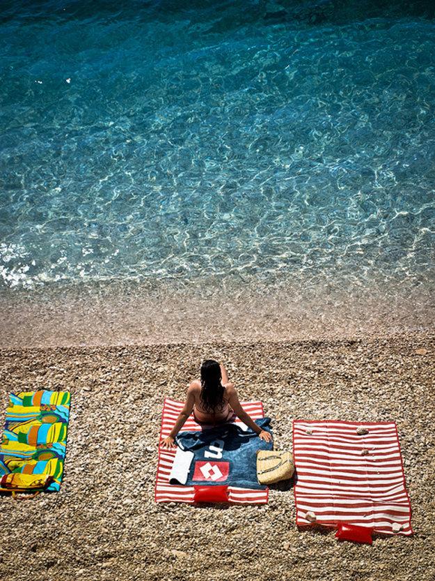 Pláž na Makarskej riviére