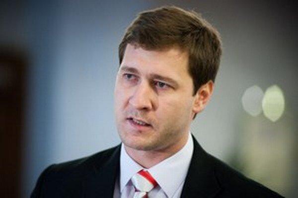 Poslanec Obyčajných ľudí Miroslav Kadúc.