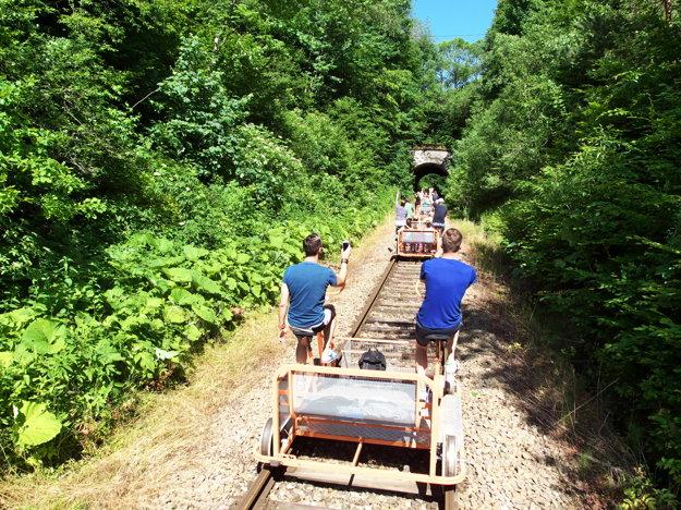 Poľsko: Atrakcia na starej trati číslo 108