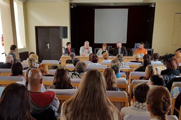Súčasťou osláv bola odborná konferencia.
