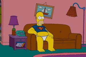 Homer Simpson, otec tradičnej americkej rodiny.