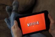 Logo spoločnosti Netflix.