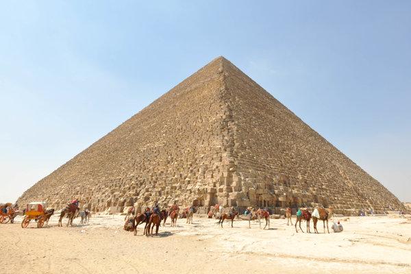 Veľká pyramída v Gíze.