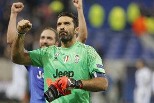 Buffon exceloval v Lige majstrov.